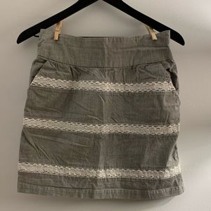 Banana republic skirt with pockets